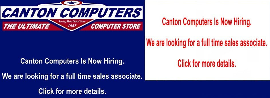 Canton Computers Is Now Hiring!!!!