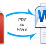 How to convert PDF'S to Microsoft Word format for free….