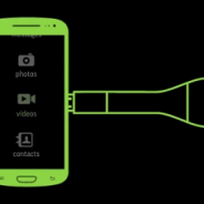 You can conveniently back up all the precious info on your phone all while it charges.