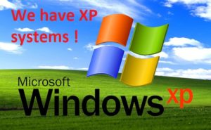 We Have XP Systyems !